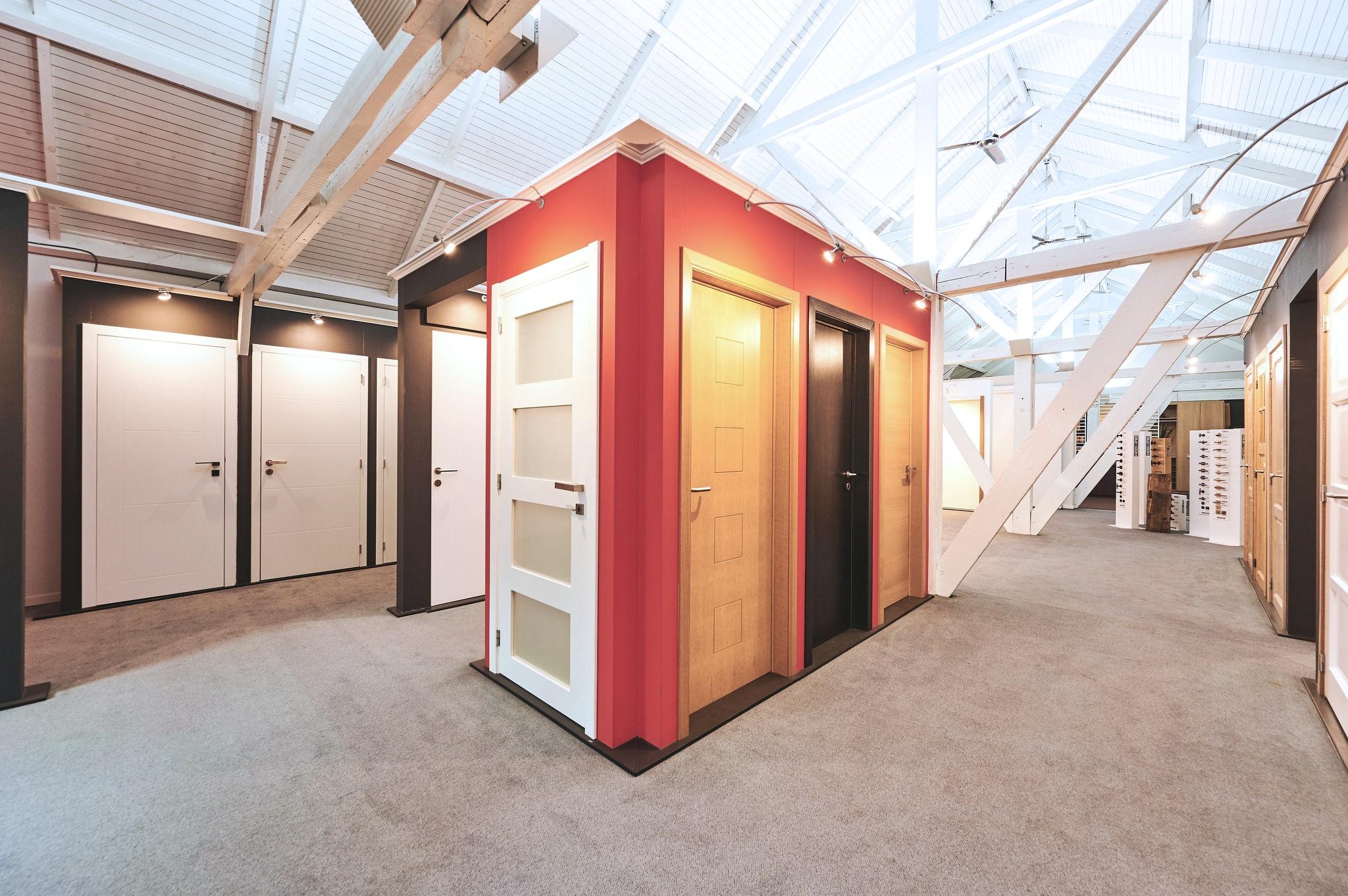 Showroom portes intérieures