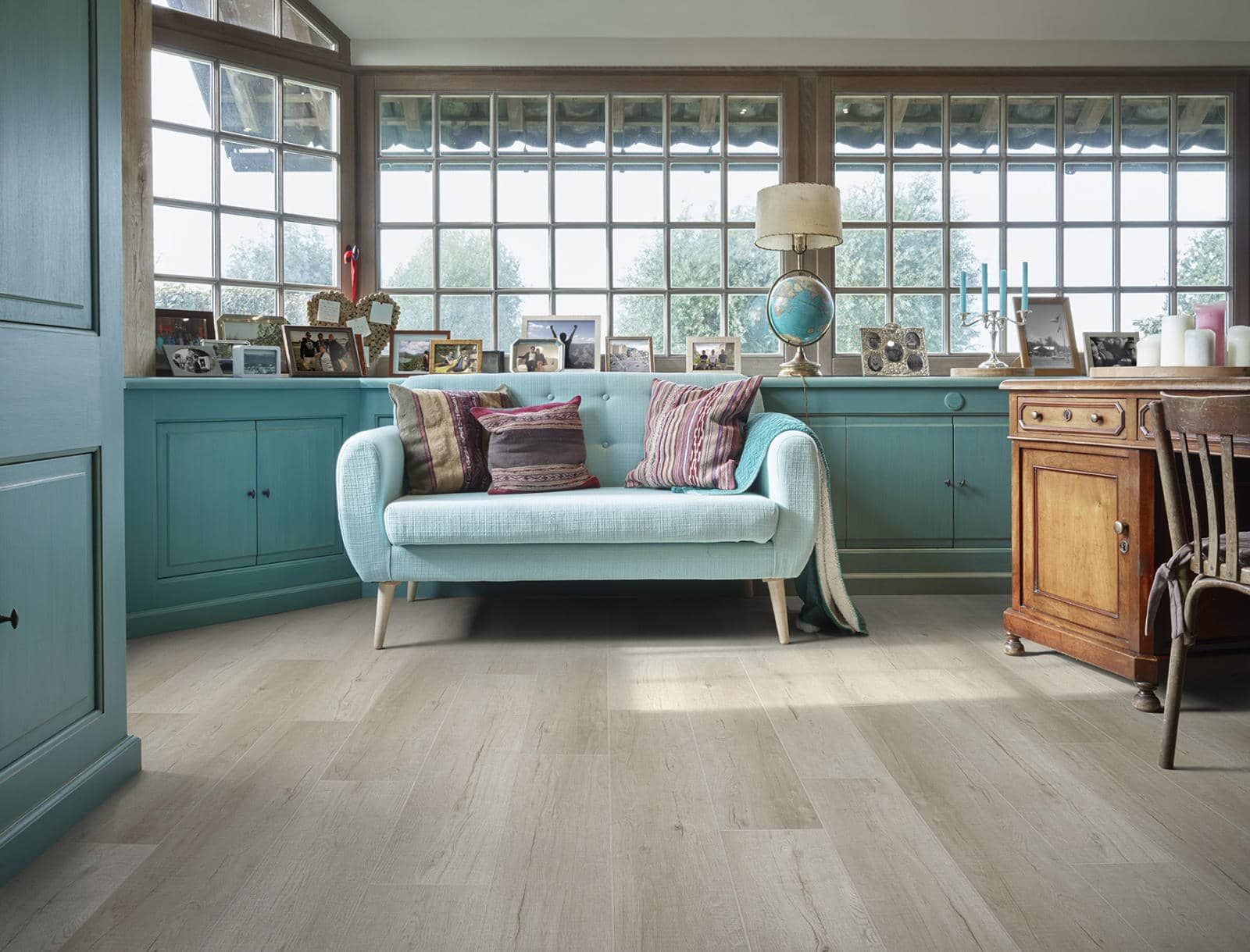 Gelamineerde en vinyl vloeren